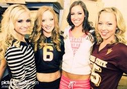 Models Roxi, Megan, Shelby & ______.